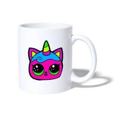 Geschenke Shop   Einhorn Katze - Tasse Shirt Diy, Mugs, Tableware, Hot Coffee, Coffee Cups, Unicorn, Tea Cups, Dinnerware, Tumblers