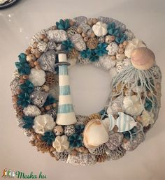 Seashell Projects, Seashell Crafts, Sea Crafts, Diy And Crafts, Cute Crafts, Summer Deco, Craft Show Ideas, Craft Night, Summer Crafts