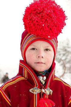 Norway, Laplander boy