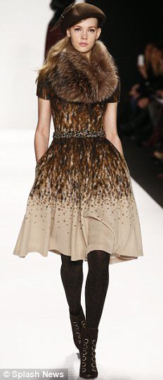 Badgley Mischka Fall 2014. I'm in love w/ the entire line. Swoon.