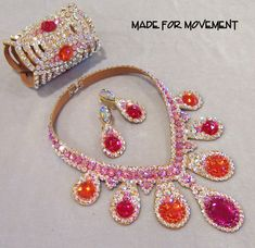 Dance Jewellery - Pink & Red