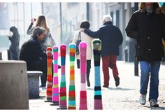 Skillful Yarn Bombing Street Art - My Modern Metropolis