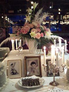 Beautiful Vintage Wedding Table