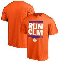 Clemson Tigers Fanatics Branded RUN-CTY T-Shirt - Orange