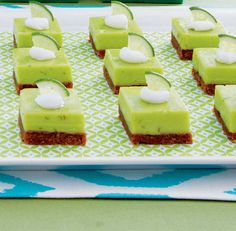 Key Lime Bars with Buttery Graham Cracker Crust
