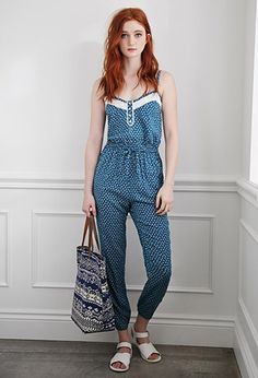 Ditsy Floral Print Jumpsuit from Forever 21 $29,90