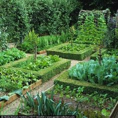 potager | Using the potager design ideals, even the smallest plot of ground can ...