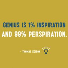 Being a genius takes guts.... Some srious ones....