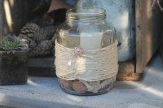 Bougeoir verre upcycling / Candlestick glass upcycling : Luminaires par brocmeg