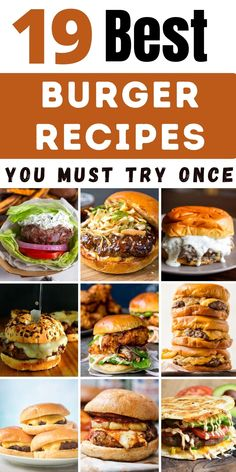 Hamburger Recipes, Ground Beef Recipes, Meat Recipes, Dinner Recipes, Cooking Recipes, Easy Burger Recipes, Burger Ideas, Copycat Recipes, Grilling Recipes