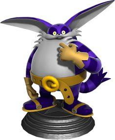 Big The Cat, Sonic Generations, Classic Sonic, Arcade, Sonic Boom, Ps3, Xbox 360, Sonic The Hedgehog, Character Art