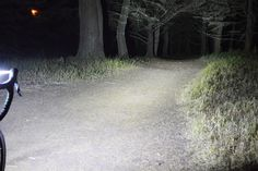 How bright should your bike lights be for night trails? Here is a look at a 3000 Lumen bike light. This is enough to light your road safely and provide clear visibility on whats ahead. See for yourself.