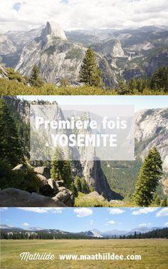 Un classique de road trip américain, à quelques heures de San Francisco, le splendide parc de Yosemite. Je vous raconte ma première fois dans ce parc : où j'ai dormi, les randonnées et la route empruntée. Yosemite National Park Lodging, National Parks, Road Trip Usa, Camping Yosemite, Things To Do Camping, Voyage Usa, San Francisco, Camping Hacks, Camping Tips