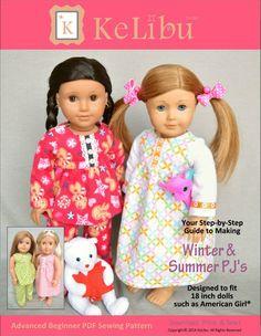 AG Winter & Summer PJ Pattern