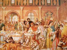 Het hof van Karel de Grote