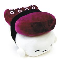 "Kawaii Japan Sushi Cushion Plush Toy Food Children Gift Octopus 10"" 1pc 