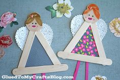 Inspired by spring – today's Popsicle Stick Garden Fairies Kid Craft is picture-perfect for the crafty little girls in your life! Perfect to celebrate the glorious spring weather outside OR any day of the year really – these beautiful creations can be used in home decor or in your child's creative imaginative play. So let's grab our supplies and throw …