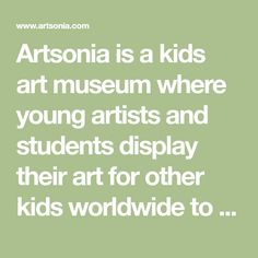 Artsonia is a kids art museum where young artists and students display their art for other kids worldwide to view. This gallery displays schools and student art projects in our museum and offer exciting lesson plan art project ideas. Middle School Art, Art School, School Fun, School Ideas, Art Activities For Kids, Art For Kids, Preschool Activities, Immaculate Conception School, Collaborative Mural