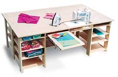 Plans to build Sewing Quilting Table Plans. How to build a sewing table, Sewing Table Plans
