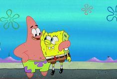 Dan Patrick, Patrick Star, Running Cartoon, Spongebob Pics, Sleepaway Camp, The Originals Show, Sandy Cheeks, Vintage Cartoon, Cartoon Pics