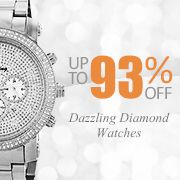 I found this amazing Dazzling Diamond Watches - Up To 93% Off! Event at nomorerack for 93% off. Sign up now and receive 10 dollars off your first purchase