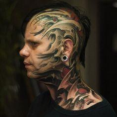 Tattoo Girl Face Piercings 51 New Ideas Weird Tattoos, Trendy Tattoos, Popular Tattoos, Tattoos For Women, Cool Tattoos, Tatoos, 3d Tattoos, Amazing Tattoos, Tattoo Girls