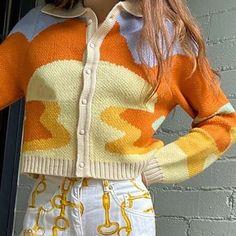Vintage Fashion Short Women Sweater