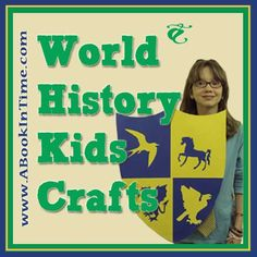 ABookInTime.com lists Great Reading Books, Crafts, Games, & Activities for the Hands-On History Teacher (& Student)!