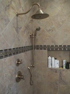 updating a bathroom by looking to the past trifection remodeling - Delta Shower Heads