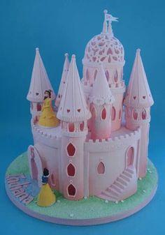 Castle fondant cake