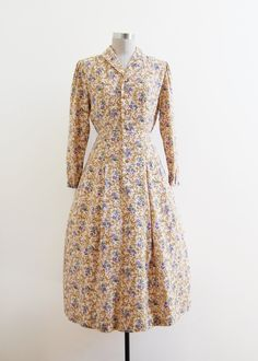 ➸ vintage 1950s Period in Baroque Dress // s // Japan | http://etsy.me/1sJYzXm