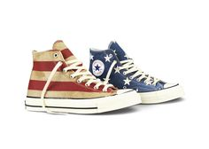 Converse Presents Vintage Flag Chuck Taylor All Star '70  AMAZING!!