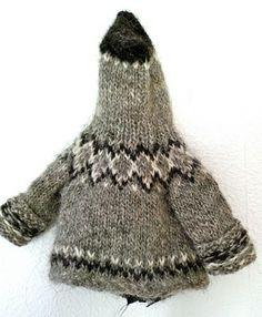 A doll sweater!    http://icelandicknitter.com