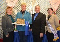 Deb Berkoski Farm Show 2105 A Winning Pie Made with Daisy Organic Flour!!