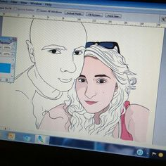 Digital Painting with Graphic Tablet... love it!