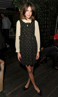 Alexa Chung Looking Chic At 'The Night Of The Stars', October 2013 | Look