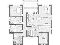 Erdgeschoss mit separatem Privatbereich