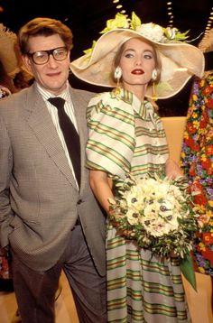 1997 - YSL & Lucie de la Falaise