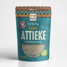 Runner-up design by skahorse Rice Packaging, Pouch Packaging, Food Packaging Design, Coffee Packaging, Custom Packaging, Packaging Design Inspiration, Fruit Pouches, Plastic Pouch, Beer Label