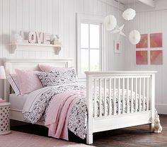 Madelyn's - Larkin Crib Full Bed Conversion Kit #pbkids