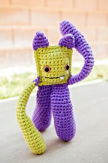Manny the Monster is a cuddly monster that just likes to have fun! He's great for a yarn stash buster, if you have a lot of leftover yarn from a large project! Crochet Monsters, Popular Crochet, Yarn Stash, Fun Crafts, Free Pattern, Crochet Patterns, Toys, Creative, Handmade Gifts