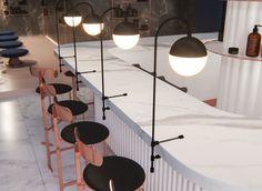 Custom Made Lighting Factory Whatsapp : 542 505 50 52 - Bar Interior Design, Restaurant Interior Design, Commercial Interior Design, Cafe Design, Retail Interior, Cafe Interior, Counter Design, Hospitality Design, Art Deco