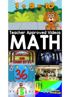 Teacher Approved Math Videos #mathvideos #videosthatteach #earlylearning