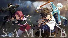 Tales of Zestiria the X『テイルズ オブ ゼスティリア ザ クロス』 Characters: Dezel,Rose,Sorey,Mikleo.