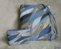 denim bag.. like the curves