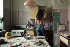 Photographer Captures Intimate Photos Of The Russian Student Girls In Their Communal Apartments And Hostels Intimate Photos, Film Photography, Dream Life, In This Moment, Lifestyle, House, Vintage, Design, Mood