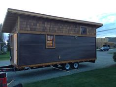 The Badger, a 200 sq ft tiny house on wheels.