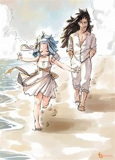 Fairy tail - gajeel x Levy Gale Fairy Tail, Anime Fairy Tail, Fairy Tail Art, Fairy Tail Guild, Fairy Tail Ships, Fairy Tales, Romeo Fairy Tail, Fairytail, Nalu