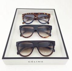 CELINE Aviator sunglasses in acetate Round Lens Sunglasses, Flat Top Sunglasses, Ray Ban Sunglasses Sale, Sunglasses Online, Sunglasses Women, Sunglasses 2016, Vintage Sunglasses, Sunglasses Outlet, Necklaces
