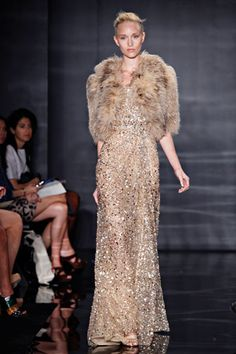 Reem Acra...this is what old Hollywood glamour looks like to me.